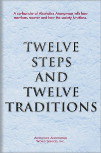12 Steps and 12 Traditions Book Cover
